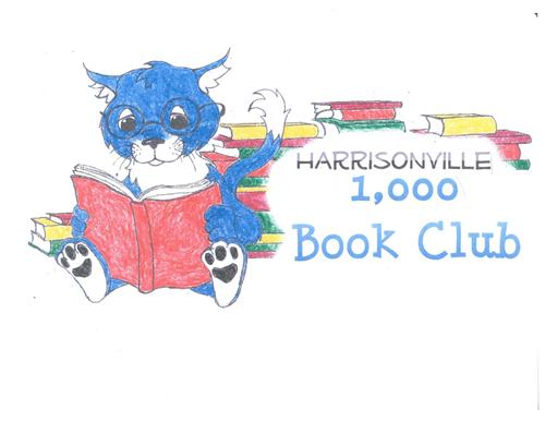 1000 book club logo