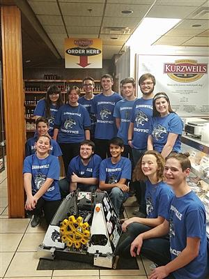 Harrisonville Robotics serving at Kurzweils