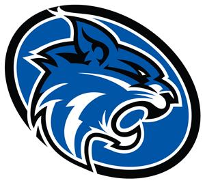 wildcat logo in oval
