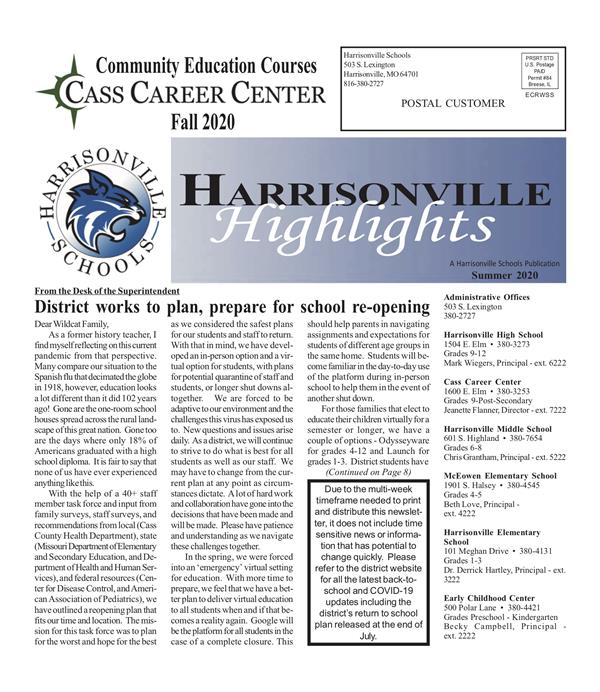 Harrisonville Highlights