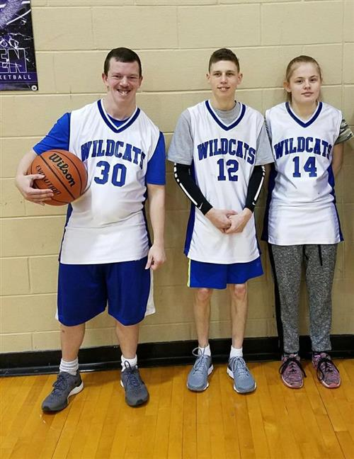 special olympics 3-on-3 participants