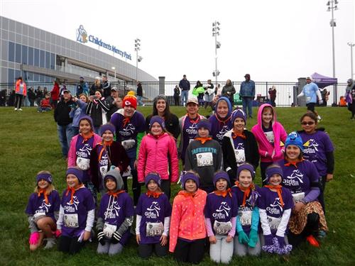Spring girls on the run participants