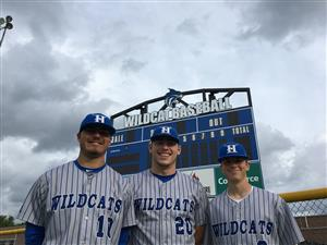 three Wildcat baseball players selected for all star game