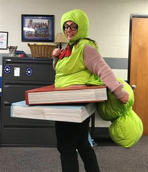 book worm costume