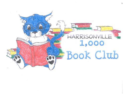 1000 book club logo