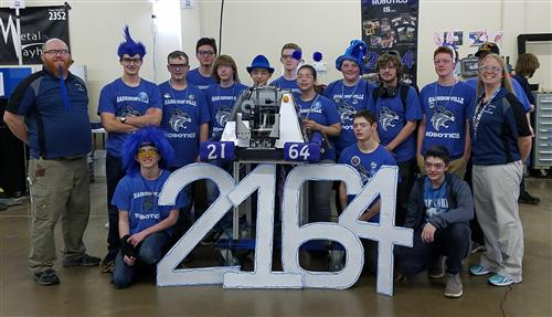 the robotics team in Lubbock texas
