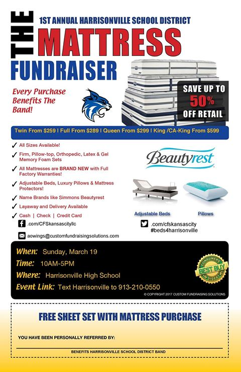 mattress sale flyer